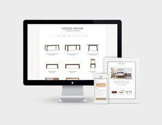 Hedge House Furniture Website Design by Knoed Creative