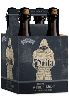 Sierra Nevada Ovila Abbey Quad Ale... This complex beer is a collaboration between Sierra Nevada Brewing Co. and the monks of the Abbey of New Clairvaux. It features sugar plums grown on the grounds of the Abbey and harvested by the monks in Vina.