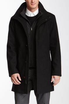 Waterproof Wool Blend Topcoat on HauteLook