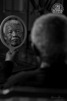 A Reflection of Dignity. From Nelson Mandala's last fotoshoot by Adrian Steirn