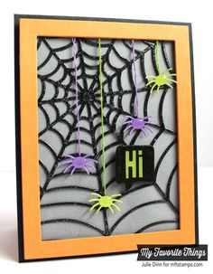 Spider web card, My Favorite Things