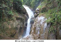 Chilling waterfall, Rawang, Malaysia