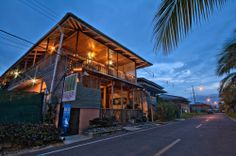 Lula's Bed and Breakfast on Isla Colon, Bocas del Toro. All of their rooms have private baths, hot and cold water, air conditioning and ceiling fans. Wireless Internet access is available throughout the hotel. http://lulabb.com/