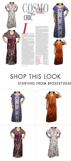 Women Summer Sleepwear by globaltrendzs-flipkart on Polyvore  nighty  women   nightgown   374f4bced