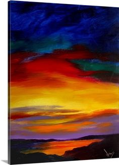 View Majestic Skies by Jonas Gerard and purchase the artwork as fine art print, canvas and framed wall art Chalk Pastel Art, Canvas Art, Canvas Prints, Big Canvas, Framed Prints, Southwest Art, Sky Art, Love Painting, Felt Art
