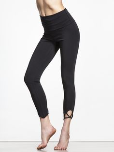 Elevate your basics with just the right amount of flair with the Moonshadow Legging from Free People Move. With strappy detail on each calf, these low-impact leggings are designed for easy movement, whether you're in yoga or dance class, and the fold-over waistband keeps them comfy when you're on the move.