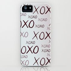 XOXO iPhone Case by Pen Creations - $35.00