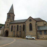 L'église de Laveissière