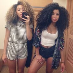 Jaira miller beautiful curly hair