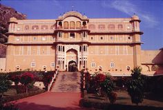 Samode Palace in Jaipur, Rājasthān