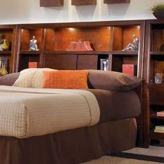 Bookcase Headboard bookcase headboard design … | pinteres…