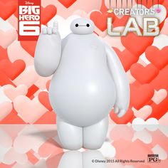 One more week to share your Big Hero 6 Valentine's Day themed art for a chance to win a trip to San Francisco. SUBMIT YOUR CREATIONS HERE!