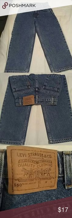 Levis jeans size 5 regular never worn toddlers Never worn see pics Levi's Jeans Straight Leg