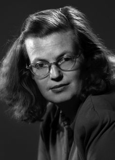 """Shirley Hardie Jackson (December 1916 – August was an American author. She is best known for the short story """"The Lottery"""" which suggests a secret, sinister underside to bucolic small-town America. Erich Hartmann, Grunge, Shirley Jackson, Horror Fiction, Horror Books, Fabulous Birthday, Comic, Writers And Poets, House On A Hill"""