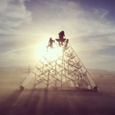 clear pyramid - 30 Amazing Photos That Will Make You Wish You Were At Burning Man 2014