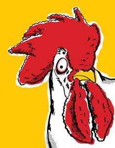 Funky chicken!