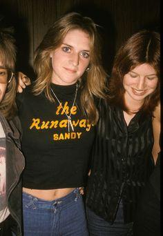 The Runaways - Sandy West & Micki Steele - the-runaways Photo
