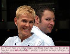 Am 27. November findet der ladies dental talk München im Restaurant COCOON statt. :)