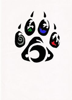 Element Wolf Paw Tribal Tattoo By Relic94 On Deviantart Design 760x1050 Pixel