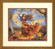 Dimensions Needlecrafts Counted Cross Stitch, Fall Fairy Dimensions Needlecrafts http://www.amazon.com/dp/B003QG11VC/ref=cm_sw_r_pi_dp_YQWVub101HC7D