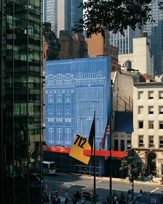 712 Fifth Ave. New York Construction Barrier by Massimo Vignelli by Nina Maltese