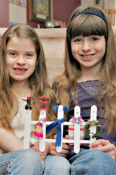 Great winter craft with large craft sticks