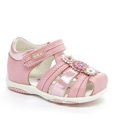 Look what I found on #zulily! Pink Abbie Sandal #zulilyfinds