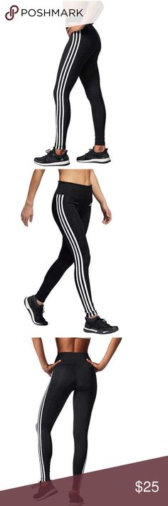 Details about BNWT Adidas Gym Style Pants Leggings Tight Work Out AOP Burgundy Brown Climalite