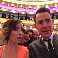 My new tv family. Live in Carnegie Hall #lifeinpieces #upfronts #cbs @LifeInPiecesCBS