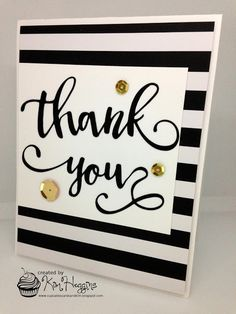 Cupcakes, Cards and Kim: thank you | The 12 Kits of Occasions - December 2016