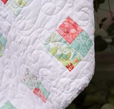 Moda Canyon Color Burst Quilt - White