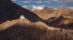 Namgyal Tsemo Monastery in Leh North India, Leh, Travel Photos, Mount Everest, Around The Worlds, Mountains, Nature, Naturaleza, Travel Pictures