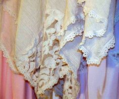 Tea stained guaze cape ponchoshawl FRENCH WATERS by tamilyn, $46.00