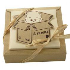 Ballotín de cartón bebé regalos para nacimientos