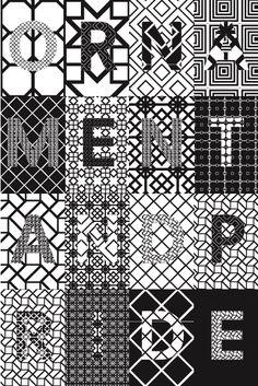 poster Ornament and Pride, design: Richard Niessen & Esther de Vries (1997)