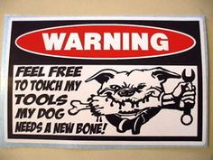 Funny Tool Box Toolbox CNC Machine Machinist Mechanic Sticker ...
