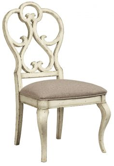 Harbor Springs Scroll Dining Side Chair in Haven | Fine Furniture Design | Home Gallery Stores
