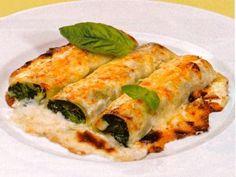 Recept cannelloni met spinazie - Recepten - Kookse.tv