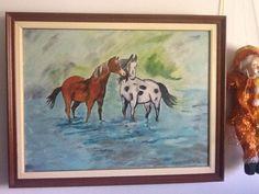 Πίνακας Δήμητρα Μπούκλα Moose Art, Painting, Animals, Animales, Animaux, Painting Art, Paintings, Animal, Animais