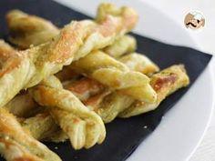 Torsades de pesto et parmesan, Recette Ptitchef