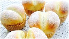 Glutinous Rice Flour Baby Butt Bun More - My WordPress Website Bread Toast, Bread Bun, Bread Cake, Rice Flour Recipes, Bread Recipes, Flour Baby, Pain Pizza, Glutinous Rice Flour, Almond Cookies