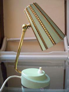 Lámpara de sobremesa años 50/60 alemana Vintage