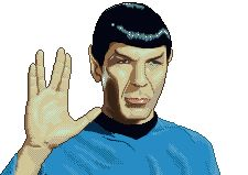 Live long and Prosper Icon, Pixel Art, Buddy Icons, Forum Avatars