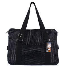 Large Capacity Women Luggage Travel Bags Short Hand-held Dot Duffle Bag For Shoulder Big Waterproof Nylon Bags bolsa de viagem