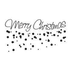 """Style and Apply Merry Christmas Wall Decal Size: 14"""" H x 31"""" W, Color: Dark Gray"""