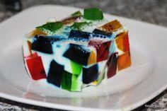Jell-o-Cake / Götterspeisepuzzle | sabo (tage) buch