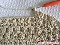 Crochet Oval Russian Rug - step by step - Part 1 Crochet Doily Rug, Crochet Coaster Pattern, Crochet Rug Patterns, Crochet Tablecloth, Crochet Crafts, Free Crochet, Back Post Double Crochet, Oval Rugs, Knitted Bags