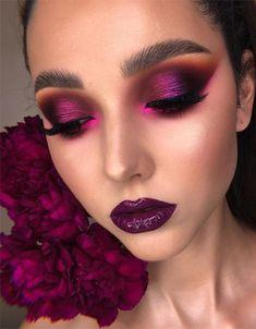 Makeup Goals, Makeup Inspo, Makeup Inspiration, Makeup Tips, Goth Makeup, Makeup Art, Beauty Makeup, Hair Makeup, Makeup Style