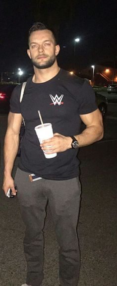Finn Balor is so hot like I can't even stand it.