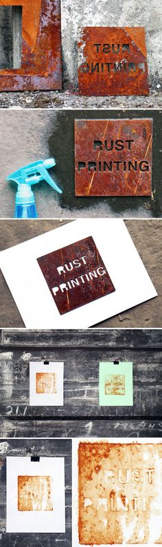 how to print with rust